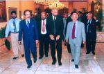 Honble Chief Justice and Ombudsman Sindh, arriving to attend the Conference